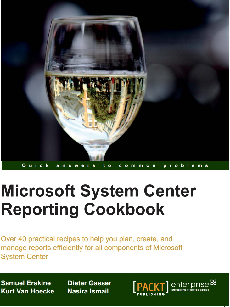 Reporting CookBook Cover