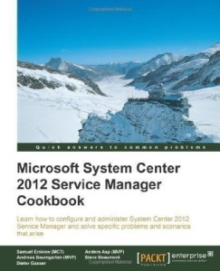 SCSM Cookbook